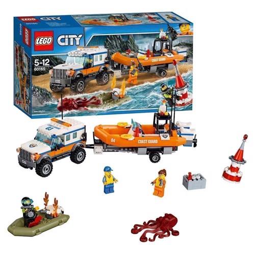 Lego 60165 SUV med redningsbåd, City