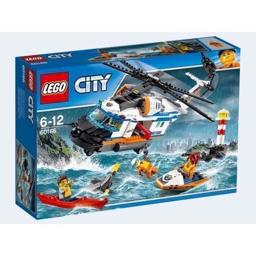 Image of Lego 60166 stor redning helikopter, City (5702015866385)
