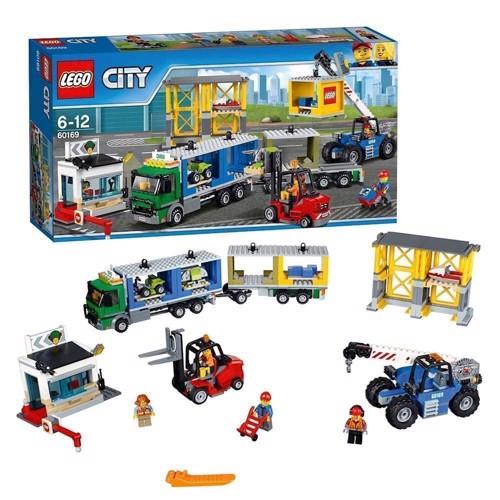 Lego 60169 cargo terminal, City