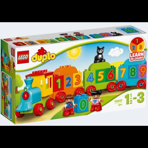 Image of Lego 10847 Tog med tal (5702015866637)