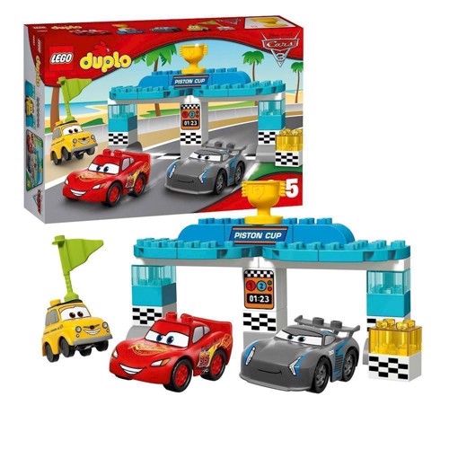 Image of Lego 10857 Cars Piston Cup race, Duplo (5702015866736)