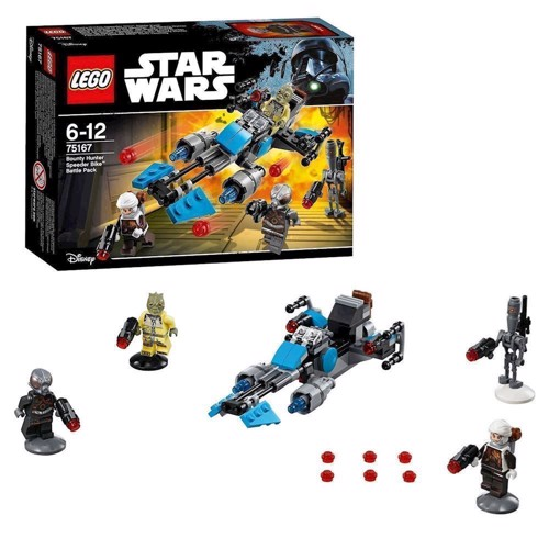 Image of Lego 75167 Bounty Hunter speederbike battle pack, Star Wars (5702015866842)