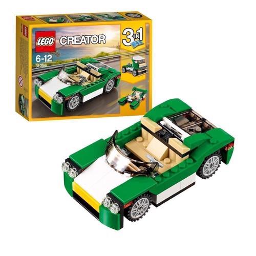 Lego 31056 Grøn cabriolet