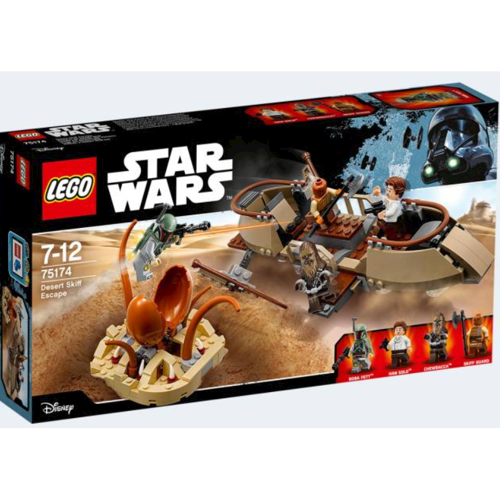 Image of Lego Star Wars 75174 Desert Skiff Escape (5702015867634)