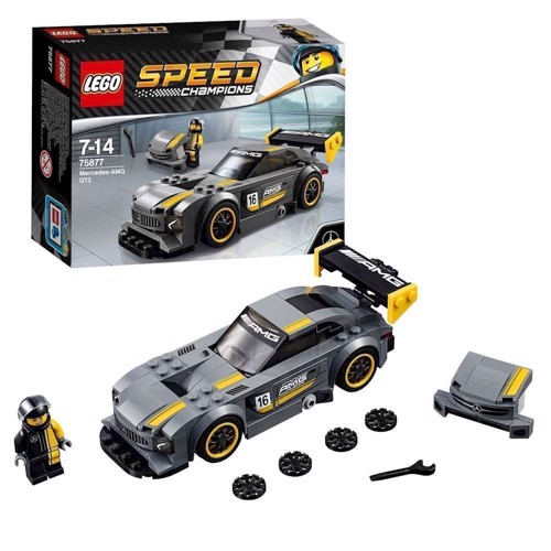 Image of Lego 75877 Mercedes-AMG GT3 (5702015867733)