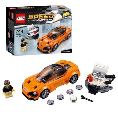 Image of Lego 75880 McLaren 720S, Speed Champions (5702015868044)