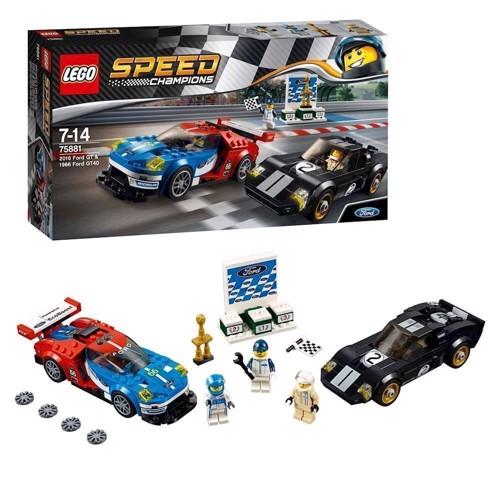 Image of Lego 75881 2016 Ford GT og 1966 Ford GT40 (5702015868099)