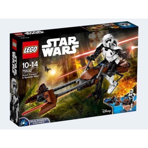 Image of   Lego 75532 Scout Trooper og Speeder Bike, Star Wars