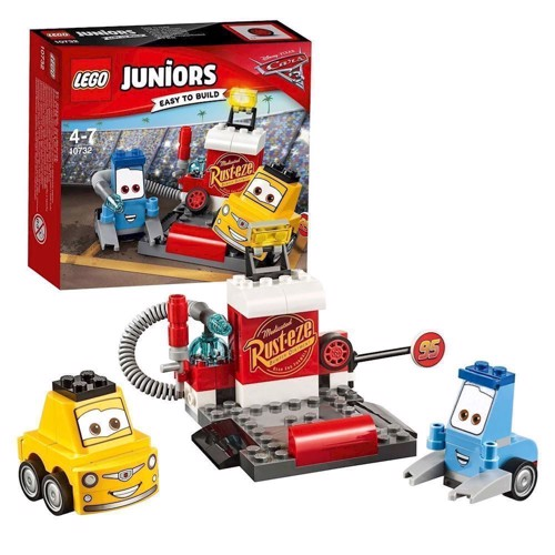 Image of Lego 10732 Guido og Luigis Pit Stop, Juniors (5702015868266)