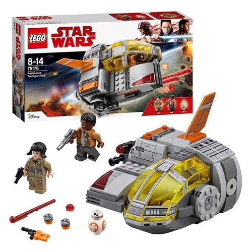 Image of LEGO 75176, Star Wars, Resistance Transport Pod (5702015868495)