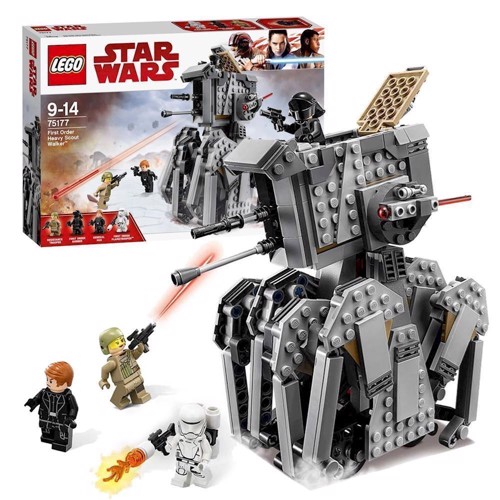 Image of LEGO 75177, Star Wars, First Order Heavy Scout Walker (5702015868501)