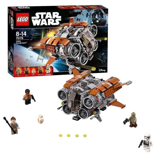 Image of   Lego 75178 Jakku Quadjumper, Star Wars
