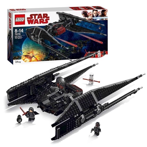 Image of   Lego Star Wars 75179, Kylo Ren´s Tie fighter