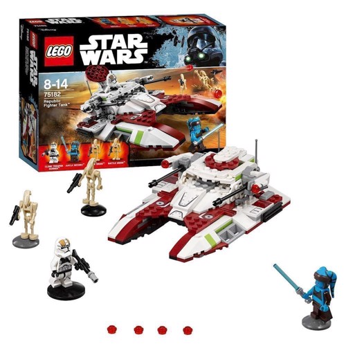 Image of Lego 75182 Republic Fighter Tank, Star Wars (5702015868549)