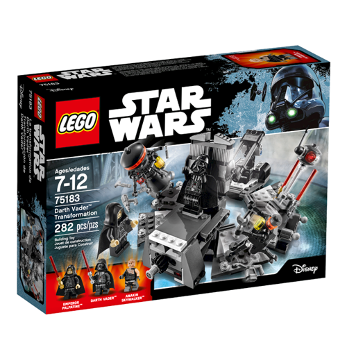 Image of Lego 75183 Darth Vader forvandling, Star Wars (5702015868556)