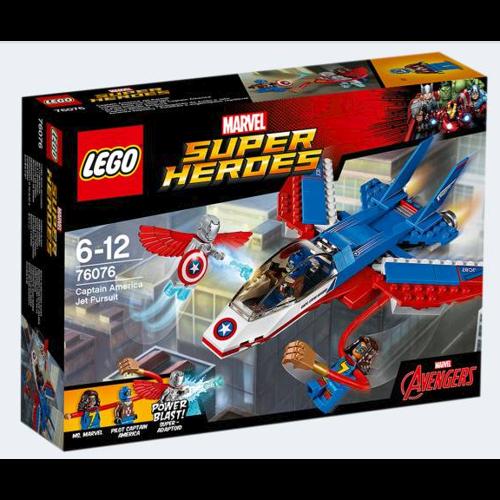 Lego 76076 Captain America jet jagt