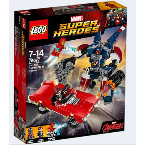 Image of Lego 76077 Iron Man: Detroit Steels angreb (5702015868624)