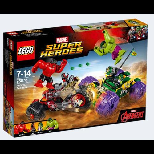 Image of Lego 76078 Hulk mod Rød Hulk (5702015868631)