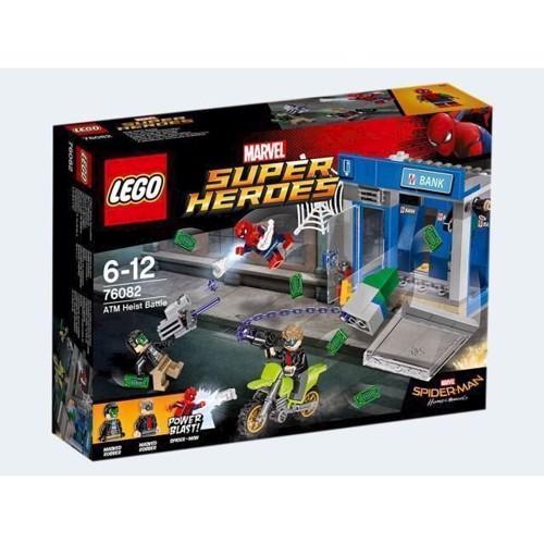 Billede af Lego 76082, kamp ved hæveautomaten, Marvel Superheroes