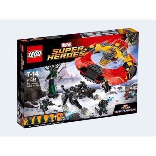 Lego 76084 Den ultimative kamp mod Asgard, Marvel Superheroes