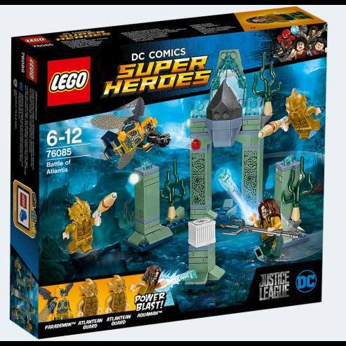 Image of Lego DC Comics Superheroes 76085 kampen ved Atlantis (5702015868709)