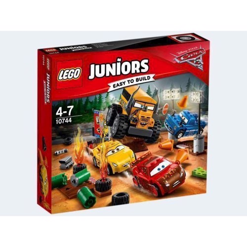 Image of Lego 10744 Det vil ræs, Lego Juniors (5702015868822)