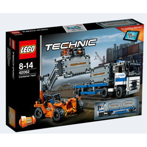 Image of Lego 42062 Containertransport (5702015869690)