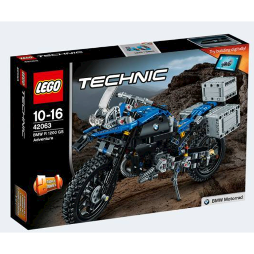Image of Lego 42063 BMW R 1200 GS Adventure (5702015869706)