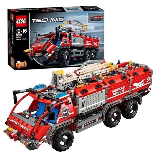 Image of Lego Technic 42068 lufthavnsredningsvogn (5702015869744)