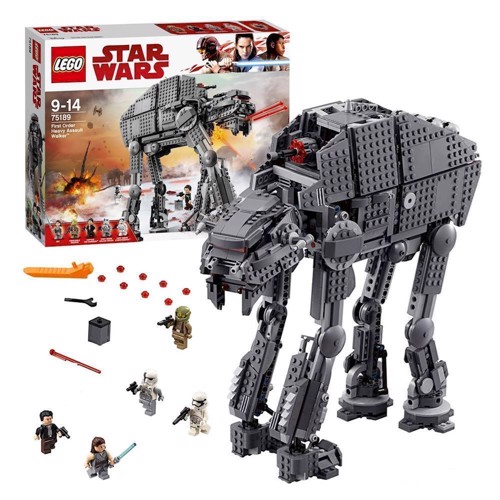 Image of LEGO 75189, Star Wars, First Order Heavy Assault Walker (5702015869904)