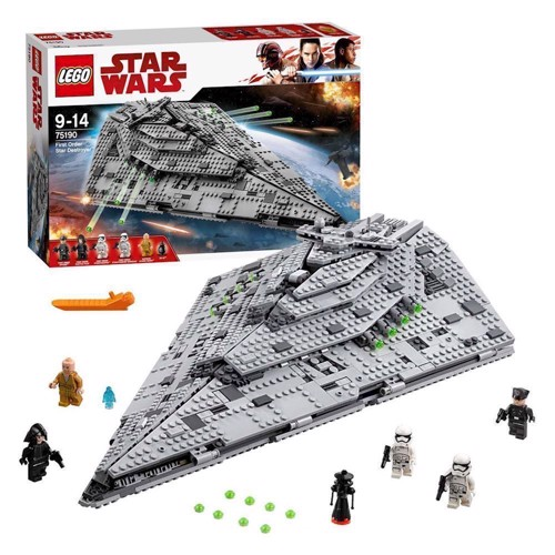 Image of LEGO 75190 Star Wars, First Order Star Destroyer (5702015869911)