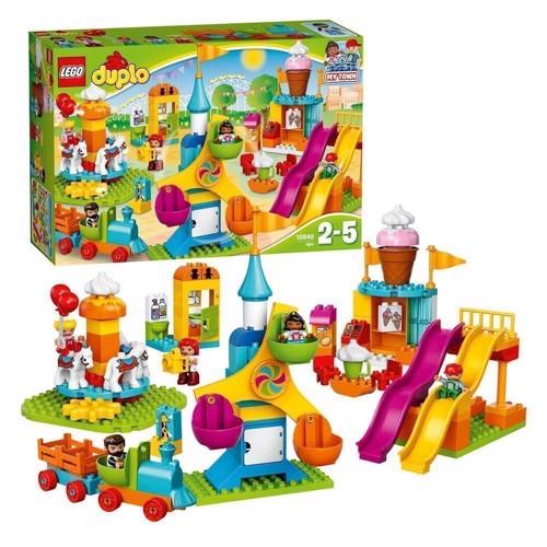 Image of   Lego 10840 forlystelsespark, Duplo