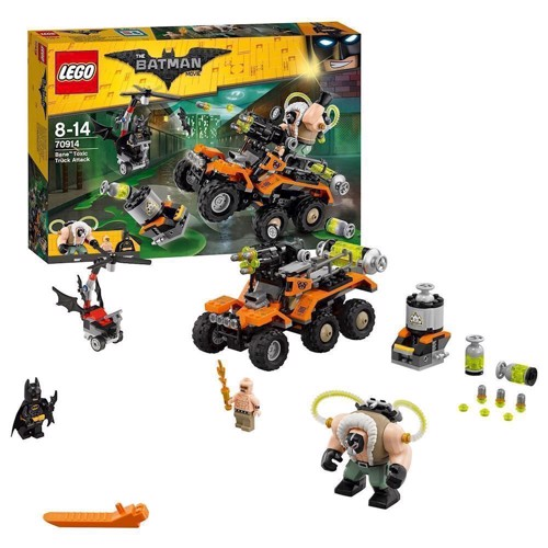 Image of Lego 70914 Bane toxic truck attack, Batman Movie (5702015870399)