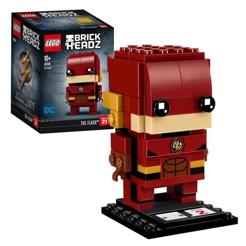 Image of LEGO Brickheadz 41598 The Flash (5702016072631)