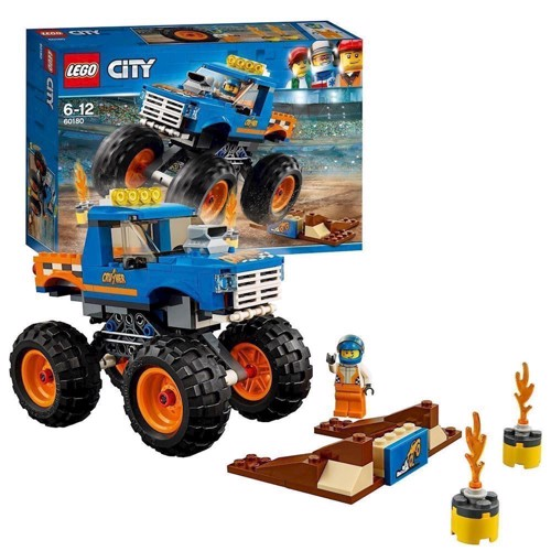 Image of LEGO 60180 City Monsterbil (5702016077490)