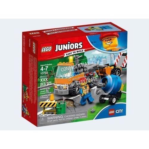 Image of LEGO Juniors 10750 vejarbejdsvogn (5702016092974)