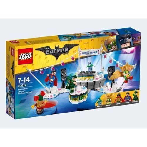 Image of LEGO 70919 Batman Movie Justice League jubilæumsfest (5702016093018)