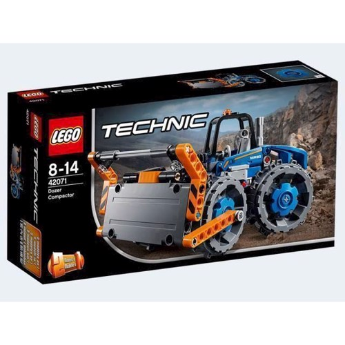 Image of LEGO 42071 Technic Bulldozer med trykplade (5702016093247)