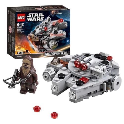 Image of LEGO 75193 Star Wars Millennium Falcon Microfighter (5702016109870)