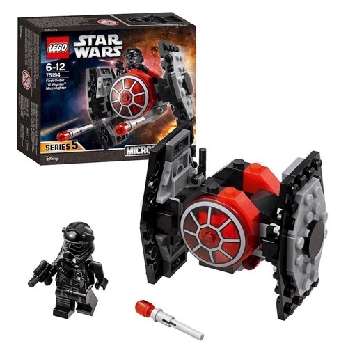 Image of LEGO 75194 Star Wars First Order TIE Fighter Microfigter (5702016109887)