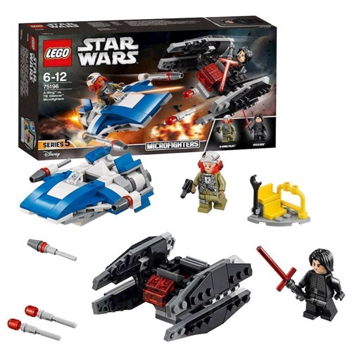Image of LEGO 75196 Star Wars A-wing mod TIE Silencer (5702016109900)