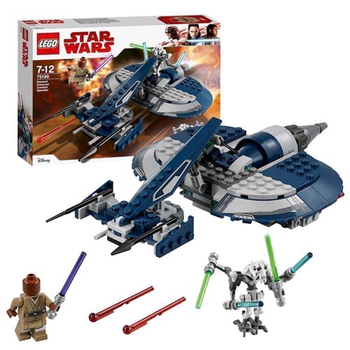 Image of LEGO 75199 Star Wars General Grievous Combat Speeder (5702016109931)