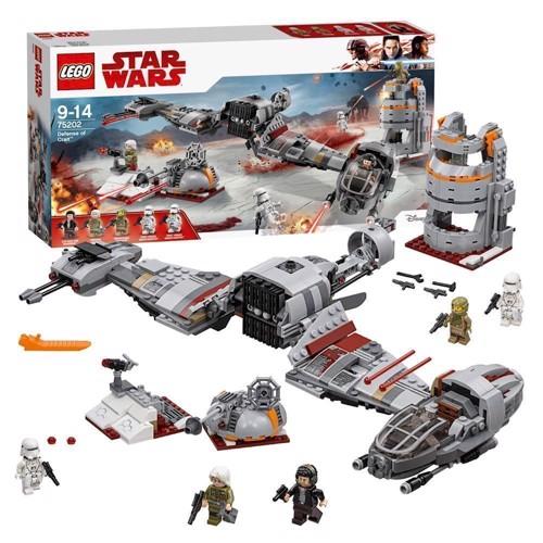 Image of   LEGO 75202 Star Wars - Forsvaret af Crait