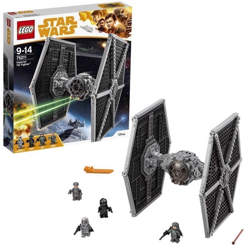 Image of LEGO 75211 Star Wars Imperial TIE Fighter (5702016110593)
