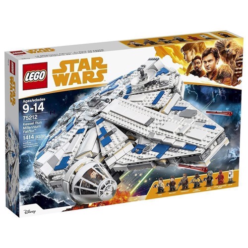 Image of   LEGO 75212 Star Wars Kessel Run - Tusindårsfalken