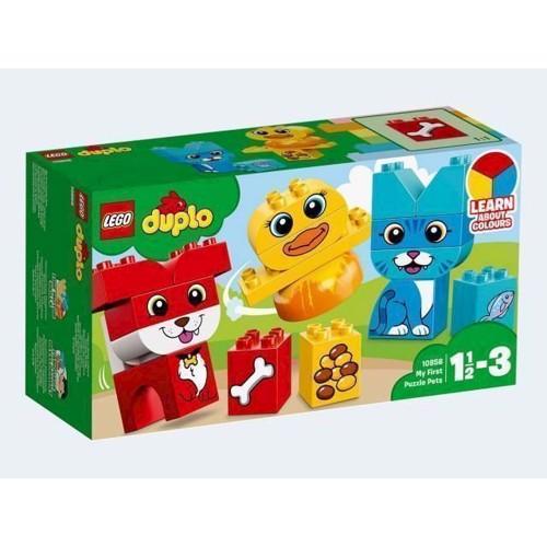 Image of LEGO 10858 Duplo Mine første puslerier - kæledyr (5702016110838)