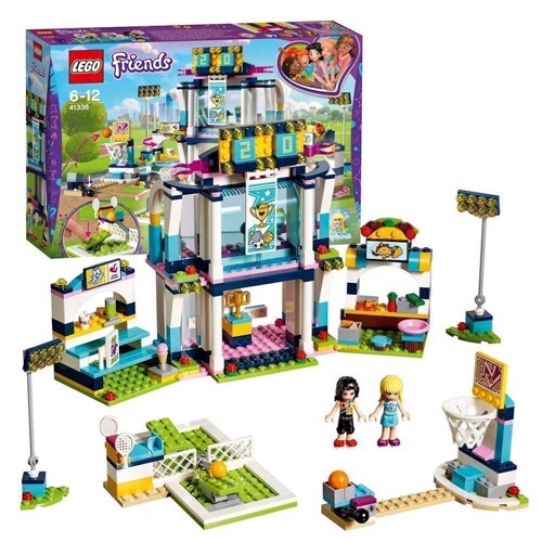 Image of LEGO 41338 Stephanies sportsarena, Lego friends (5702016111606)
