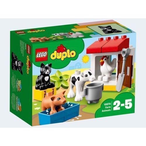 Image of   LEGO 10870 Duplo Dyr På Bondegården
