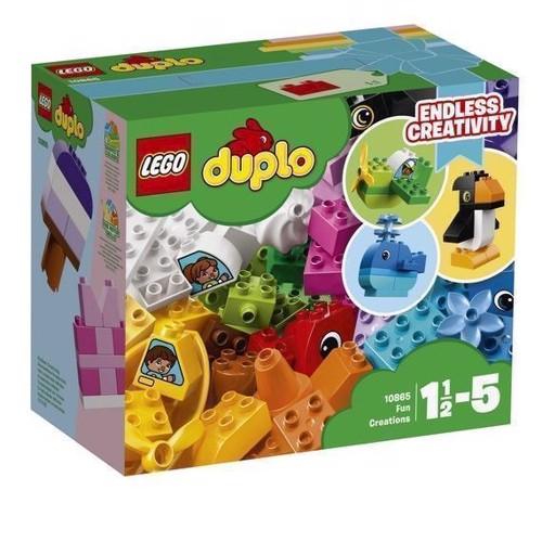 Image of   LEGO Duplo 10865 sjove kreationer