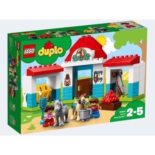 Image of   LEGO 10868 Duplo Ponystald